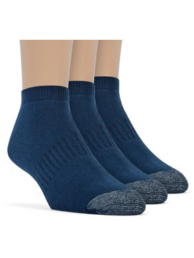 79551ff8e6907 Men's Cotton Premium Low Cut Cushion Socks - 3 Pairs