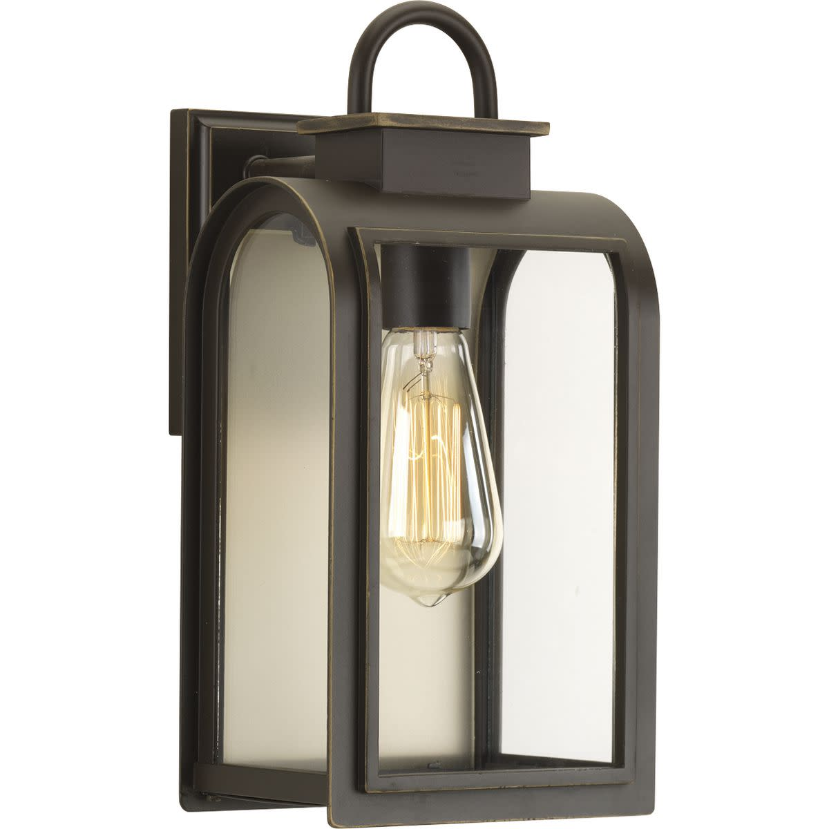 Refuge Collection One-Light Small Wall Lantern