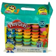 Play-Doh 50 Count Party Bag, 50 oz