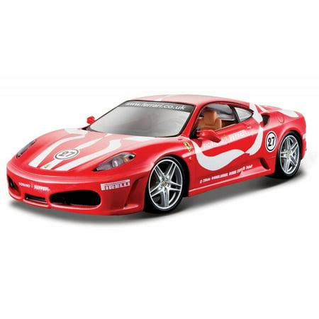 Ferrari F430 Fiorano, Red - Bburago 26009 - 1/24 scale Diecast Model Toy Car