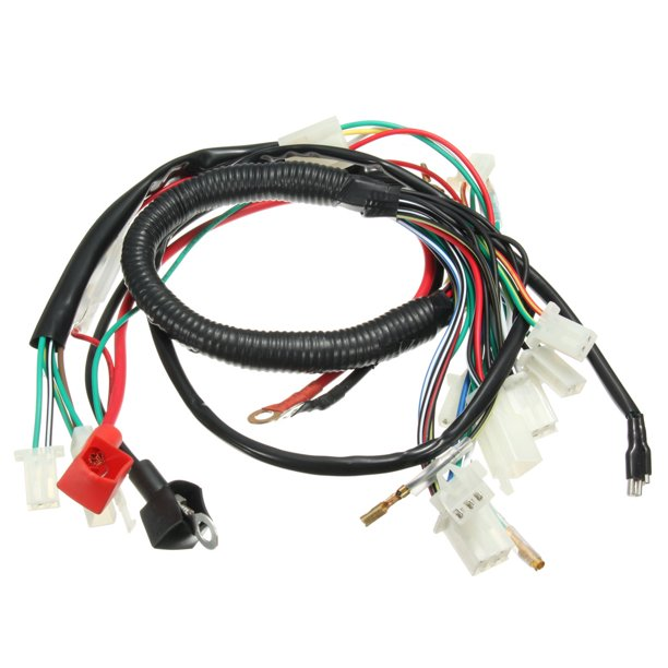 Electric Engine Start Wiring Loom Harness Chinese Pit Dirt Bike ATV Quad  50cc 70cc 90cc 110cc 125cc US - Walmart.com - Walmart.comWalmart.com