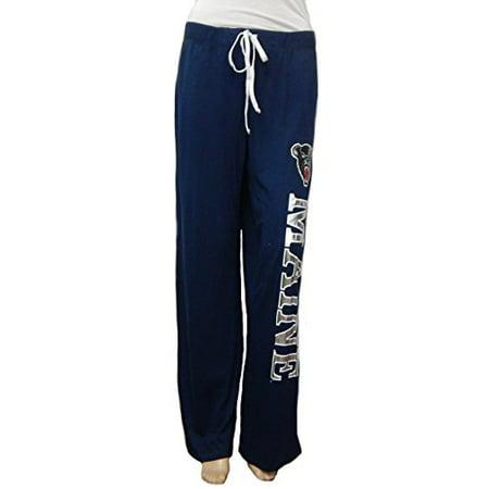 NCAA Maine Black Bears Pajama Lounge Sleep Yoga Pants - Foil Logo (Large) - Panda Bear Pajamas