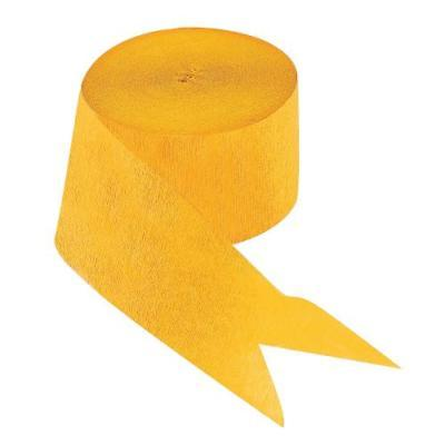 IN-70/63 Yellow Paper Streamers 2PK