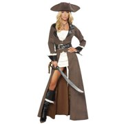 4pc Deluxe Pirate Captain Costume by ROMA