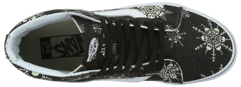 1e127d306a85 Vans - Vans Unisex SK8-Hi Reissue (Van Doren) Skate Shoes-Skull Snowflake  Black - Walmart.com