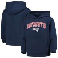 Youth Navy New England Patriots Team Fleece Pullover Hoodie