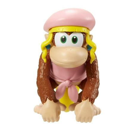 Super Mario World of Nintendo Dixie Kong Mini Figure (Dixie Kong Costume)