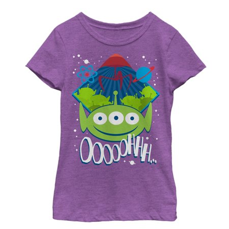 Toy Story Girls' Three-Eyed Alien Party T-Shirt