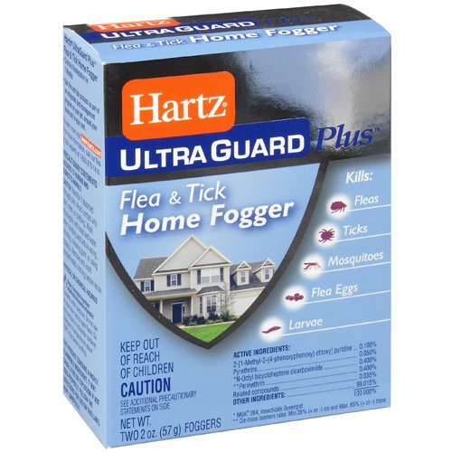 Hartz Ultraguard Plus: Home Fogger Flea & Tick, 2 Oz