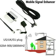 ODOMY 2020 LCD Display GSM-900/1800Mhz 2G/3G/4G Signal Booster Repeater Amplifier Antenna for Cell Phone
