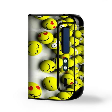 Skin Decal for Smok Osub King 220W Vape / Tennis Balls Happy - Happy Balls