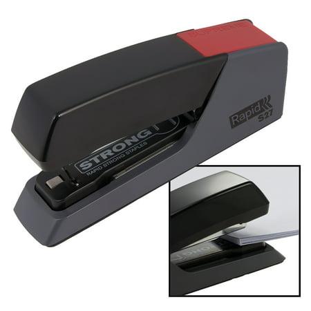 Rapid Stapler S27 Steel Superflat Clinch Desk Stapling Less Effort Easy Papers 30 Sheets