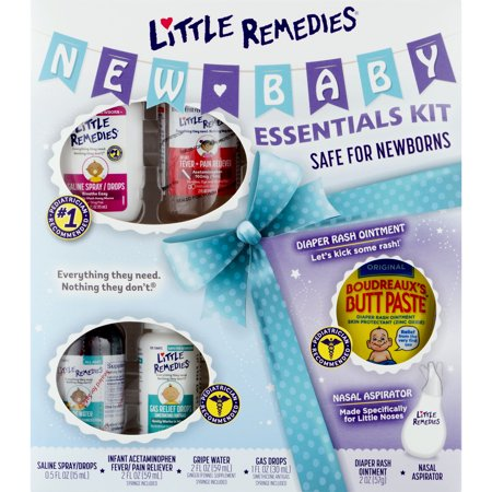 Little Remedies New Baby Essentials Kit, Perfect for Baby Shower