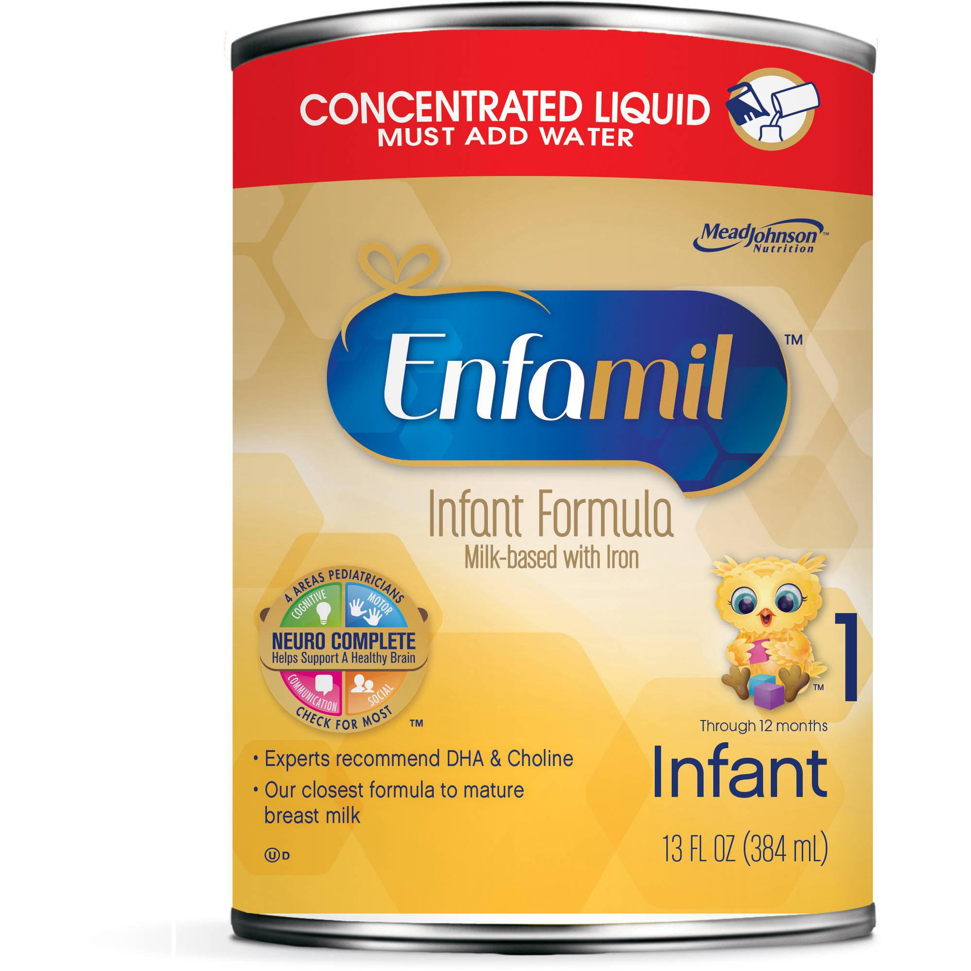 Enfamil Infant baby formula - 13 fl oz Concentrate