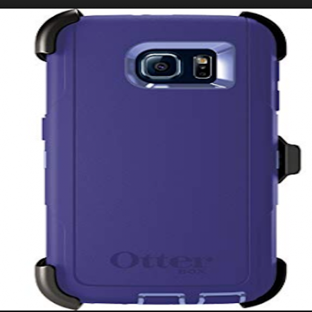 OtterBox - Defender Series Protection Case - Samsung Galaxy S6 / Purple  - image 1 of 1