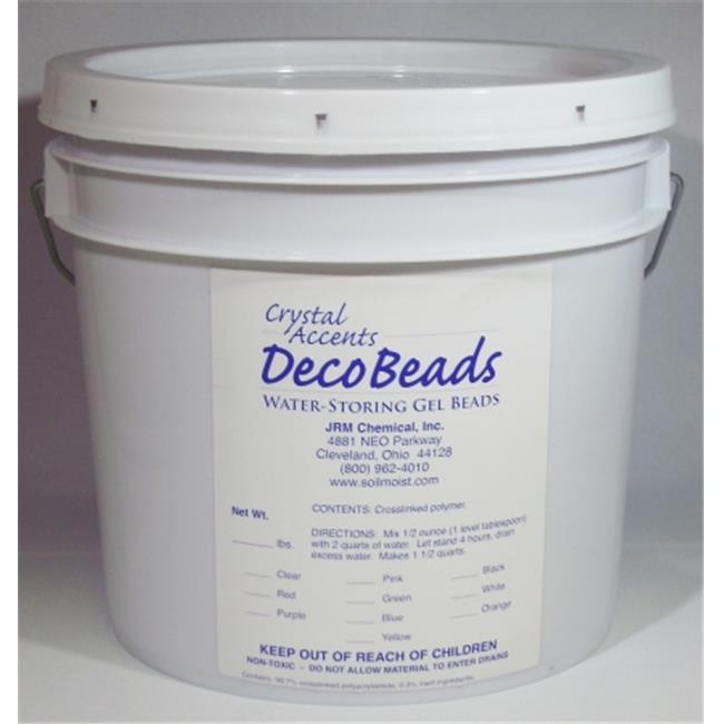 JRM Chemical DB-B05 Deco Beads 5 lb pail Blue
