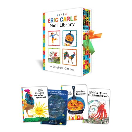Davinci Library Set - The Eric Carle Mini Library : A Storybook Gift Set