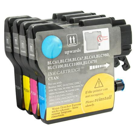 brother mfc 290c ink cartridge set compatible. Black Bedroom Furniture Sets. Home Design Ideas