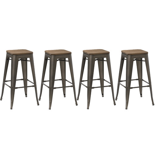 Famis Corp 30 Bar Stool Set Of 4