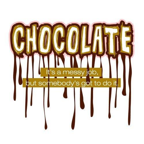 Attitude Aprons by L.A. Imprints Chocolate Messy Job Apron
