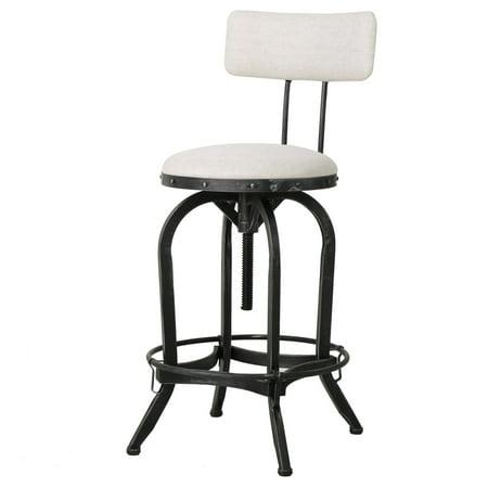 Astounding Brandon Bar Stool With Backrest Ibusinesslaw Wood Chair Design Ideas Ibusinesslaworg