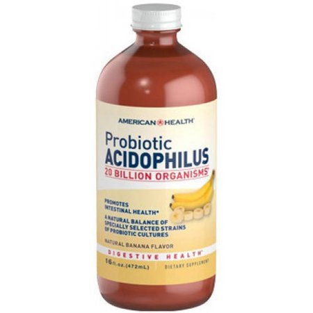 American Health Acidophilus Culture Banana, 16 - American Health Acidophilus Banana
