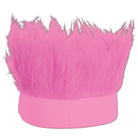 Club Pack of 12 Pink Decorative Party Hairy Headband Costume Accessory