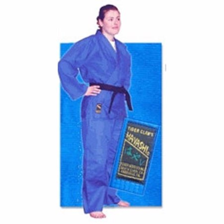 Blue Single Weave Hayashi Judo Uniform Double Weave Judo Uniform