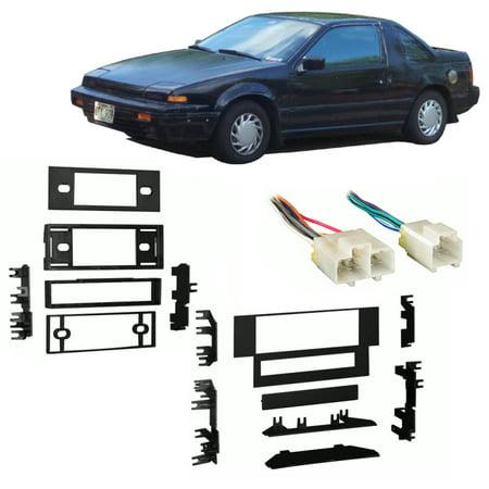 Fits Nissan Pulsar 1987-1990 Single DIN Stereo Harness Radio Install Dash Kit