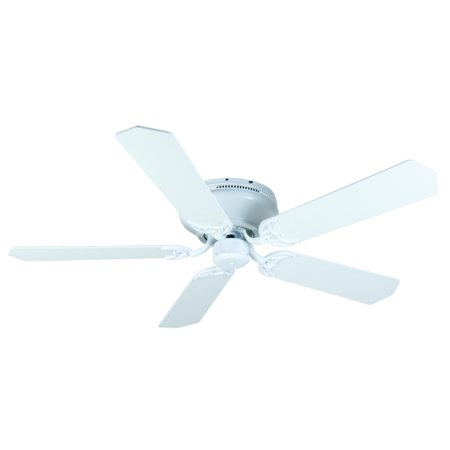 Craftmade Pro Contemporary 52 in. Flushmount Indoor Ceiling Fan with Pointed Blades Craftmade Ceiling Fan Blades