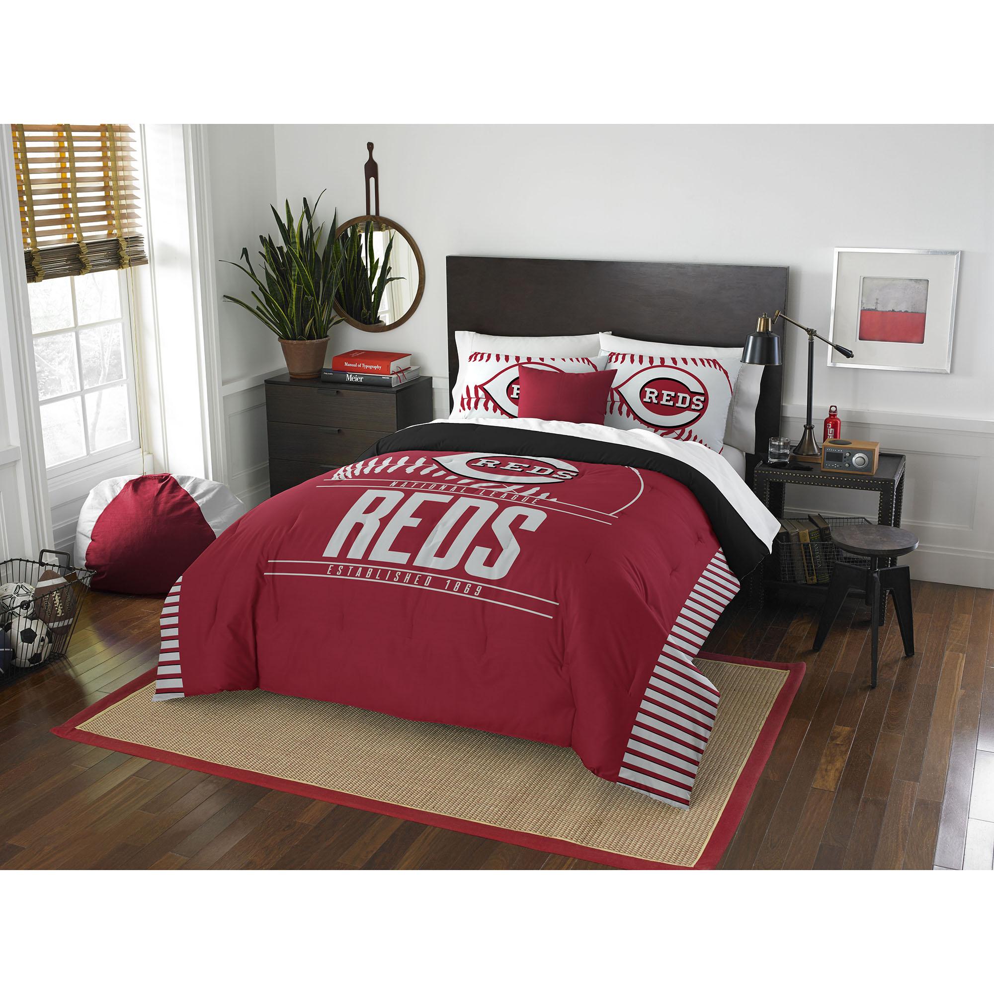 Cincinnati Reds The Northwest Company Grand Slam Full/Queen Comforter Set - No Size