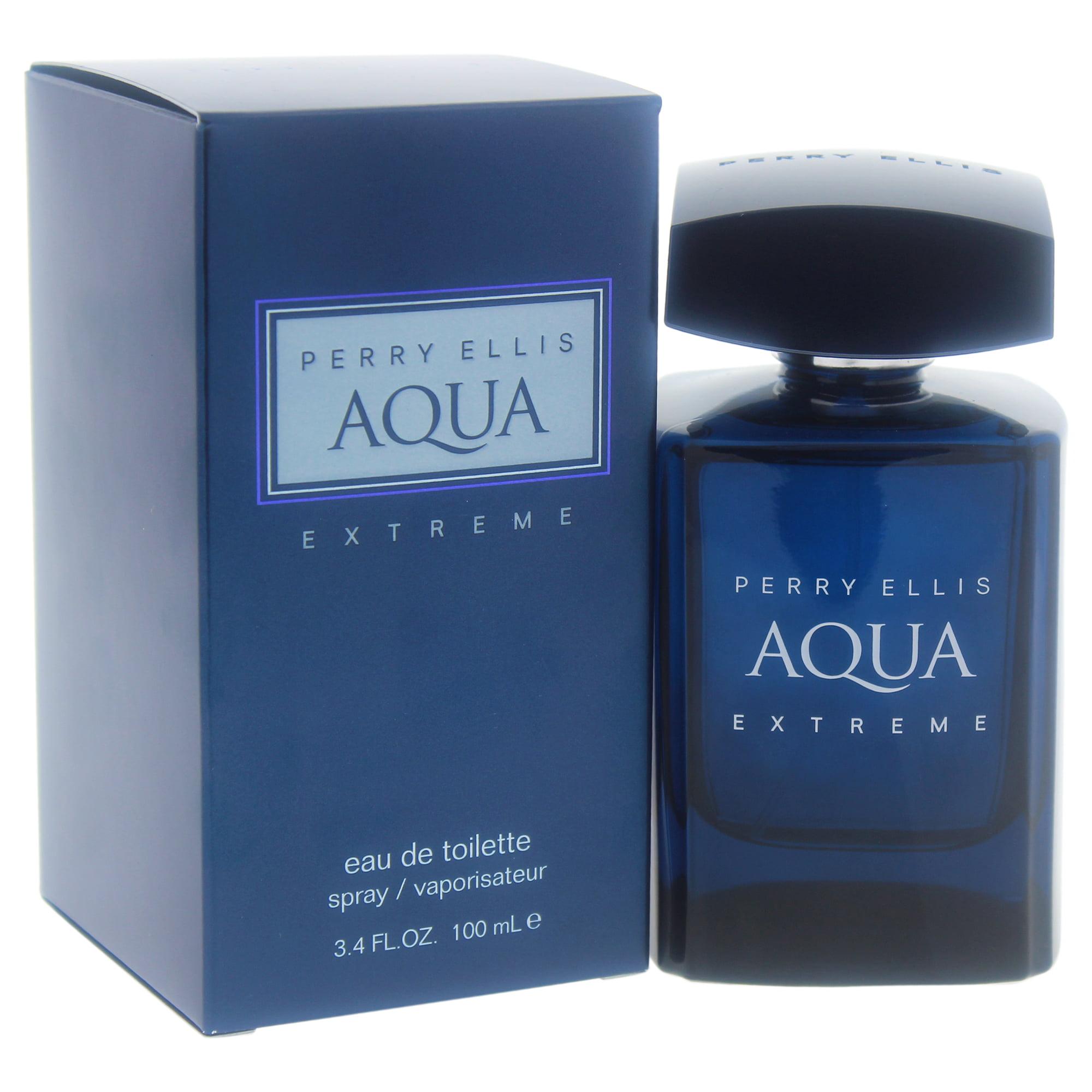 Perry Ellis Aqua Etreme by Perry Ellis for Men - 3.4 oz EDT Spray