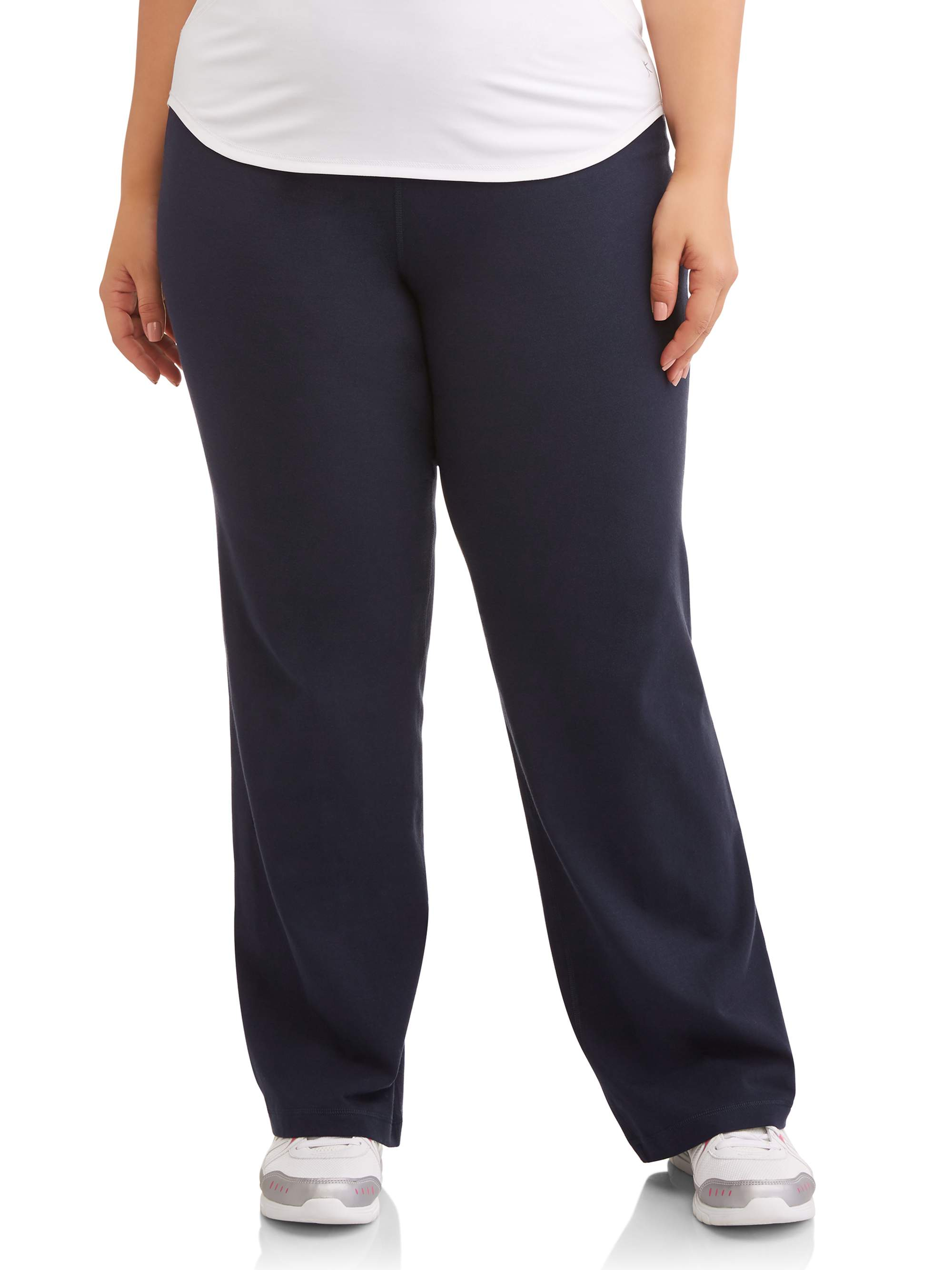 Athletic Works Women's Plus Dri More Bootcut Pant