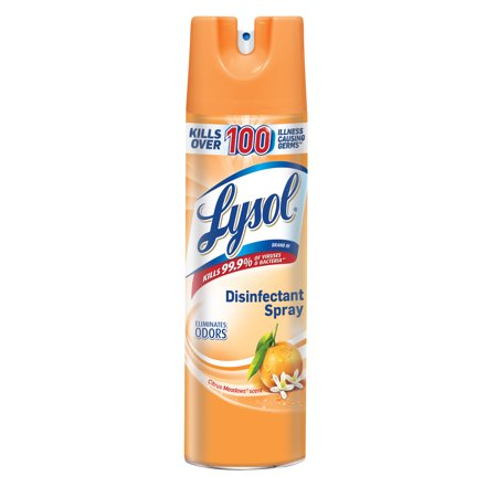 Lysol Disinfectant Spray, Citrus Meadows, 19oz