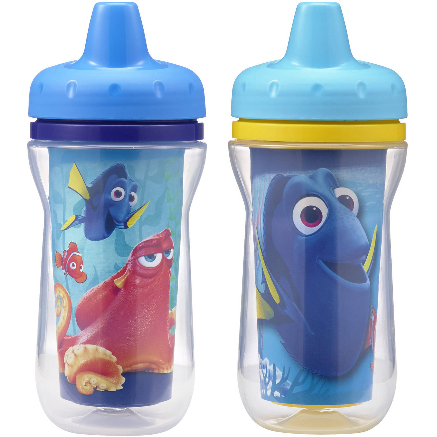 The First Years Disney/Pixar Finding Dory 9oz  Insulated Sippy Cup, 2 Pack
