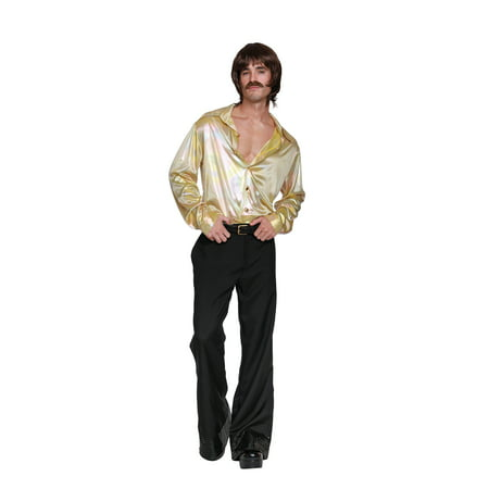 Dreamgirl Men's 70'S Icon (M) (70's Costume Ideas Plus Size)