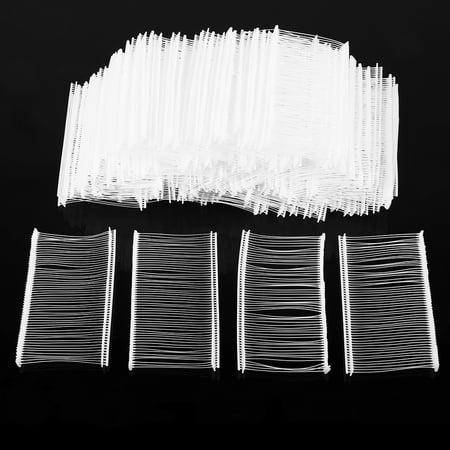 "Yosoo 5000pcs 50mm 2"" Standard Tagging Attachments Clothing Garment Price Label Tagger Tag Gun Barbs Tagging Fasteners PlasticToggles - image 6 de 7"