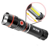 NEBO 6156 Slyde LED Flashlight 250 Lumens