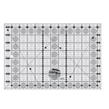 "Creative Grids 8 1/2"" x 12 1/2"" Rectangle Ruler"