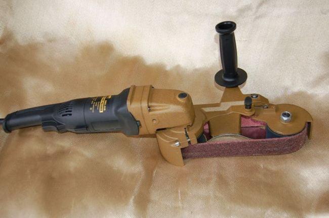 BLUEROCK Model 40B Pipe Sanding Polishing Machine Stainless Grinder Belt Sander Polisher by