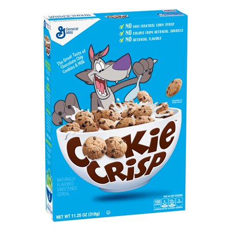 Cookie Crisp Chocolate Chip Cookie Flavored Cereal, 11.25 oz