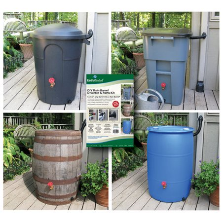 EarthMinded DIY Rain Barrel Diverter and Parts Kit