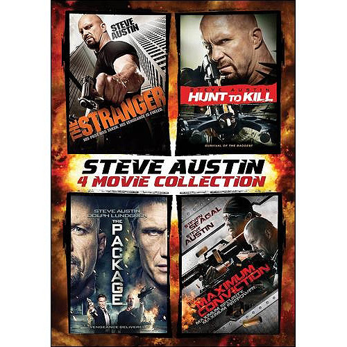 Steve Austin 4-Pack: The Stranger / Hunt To Kill / The Package / Maximum Conviction (Widescreen)