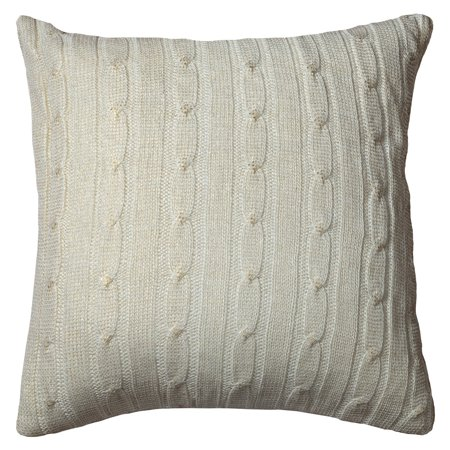Cable Knit Decorative Pillow