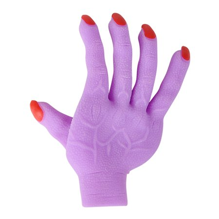 Adult's Purple Zombie Glove Hand Undead Monster Halloween Costume Accessory - Halloween Zombie Outfit