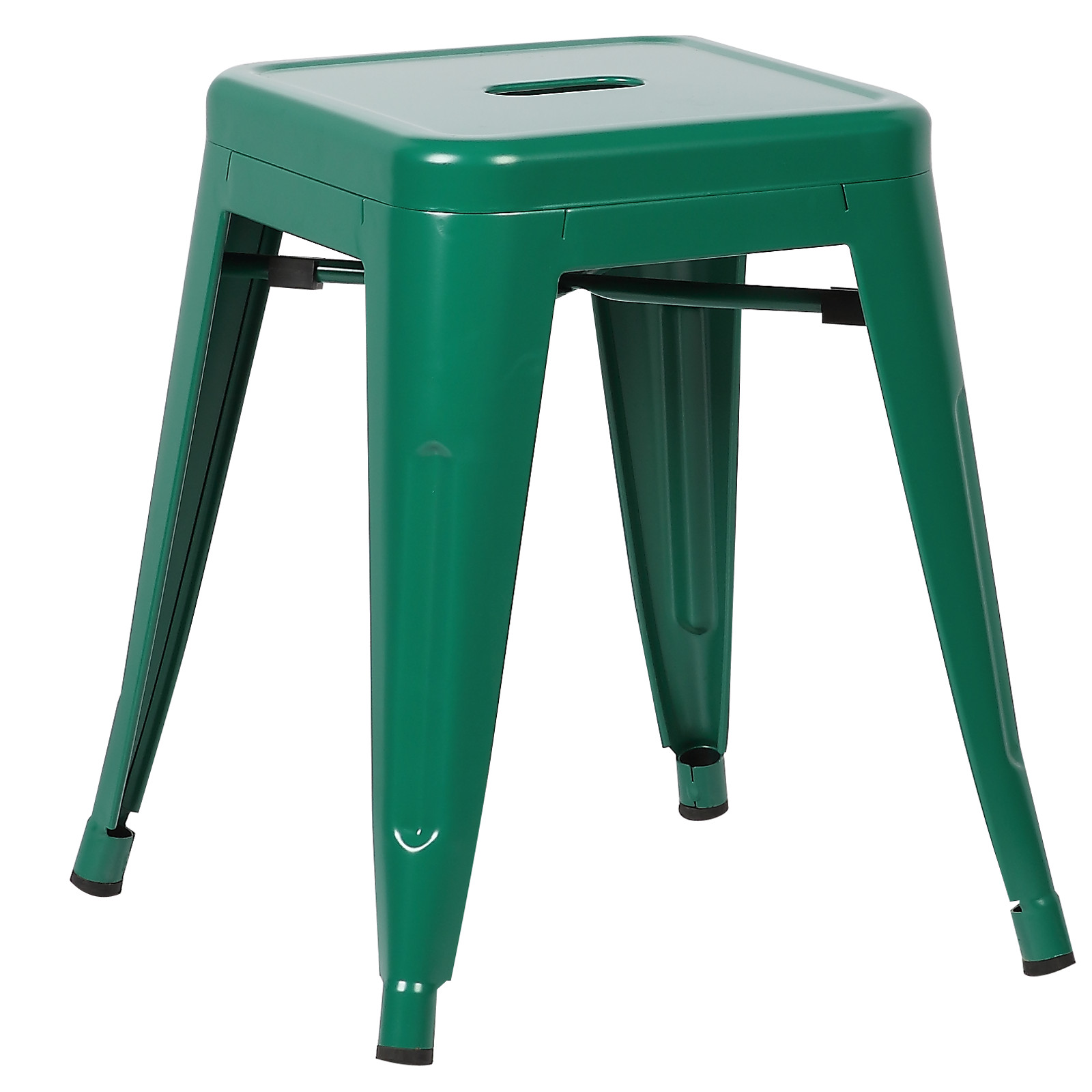 """Poly and Bark Trattoria 18"""" Stool in Dark Green (Set of 4)"""