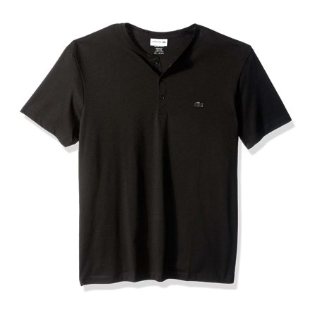 Lacoste Men's Cotton Henley Neck Short Sleeve T-Shirt