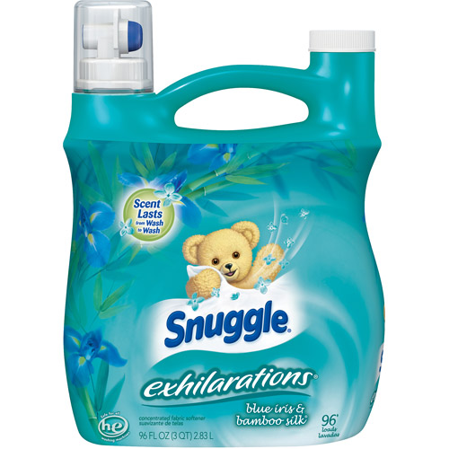 Snuggle Exhilarations Fabric Softener Liquid, Blue Iris, 96 loads