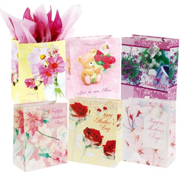 For a Special Mom Medium Gift Bag on Matte Case Pack 180