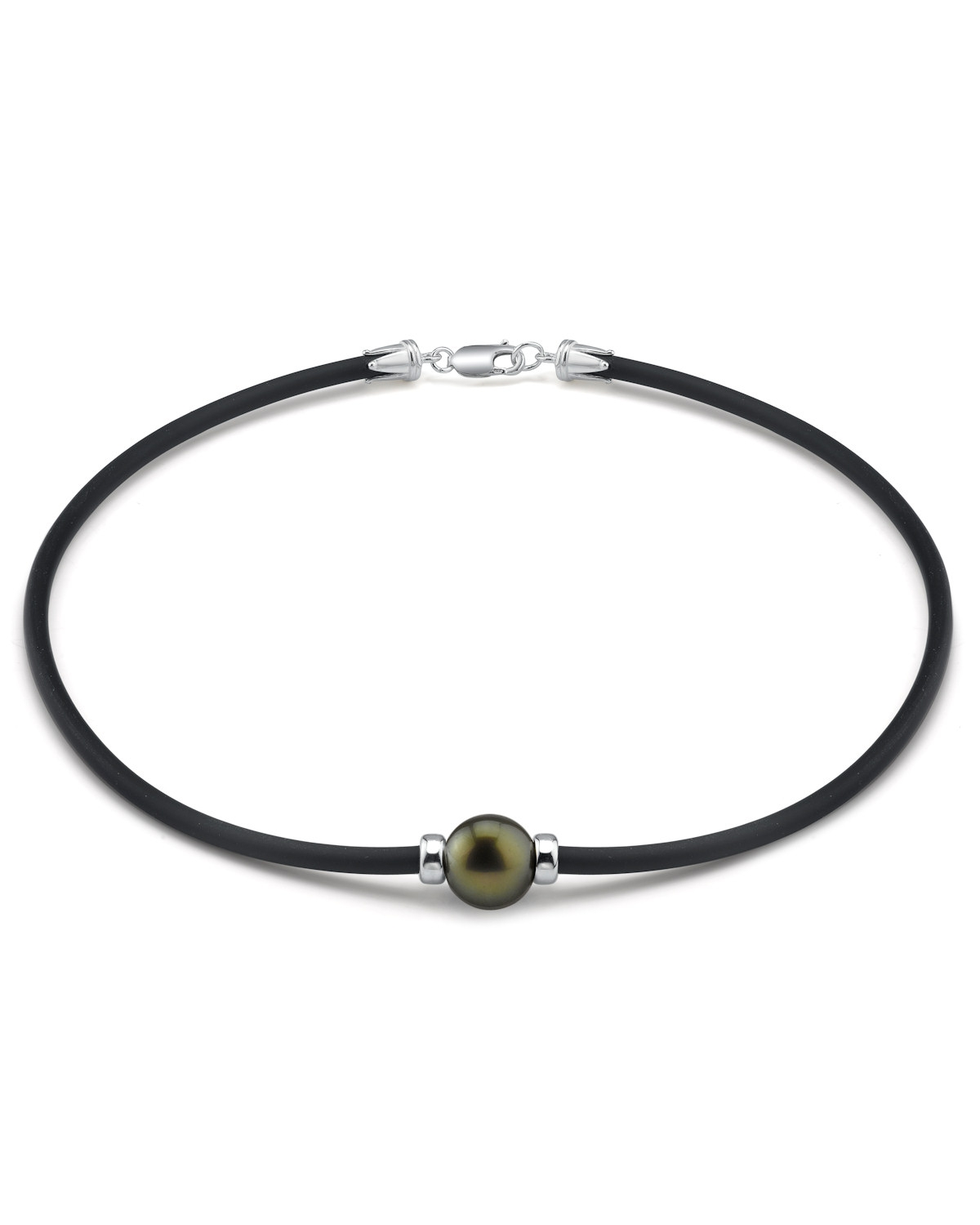 11mm Tahitian Round Cultured Pearl Necklace by The Pearl Source